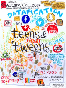 Graphic Illustration – Digital Media and Social Lives of Teens and Tweens
