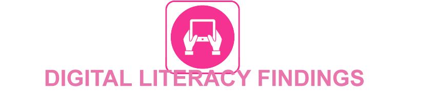 Digital Literacy Findings
